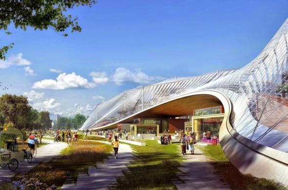 Nuevo campus de Google a cargo de BIG