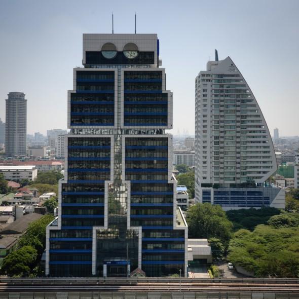 El Edificio Robot fue inspirado por un juguete infantil