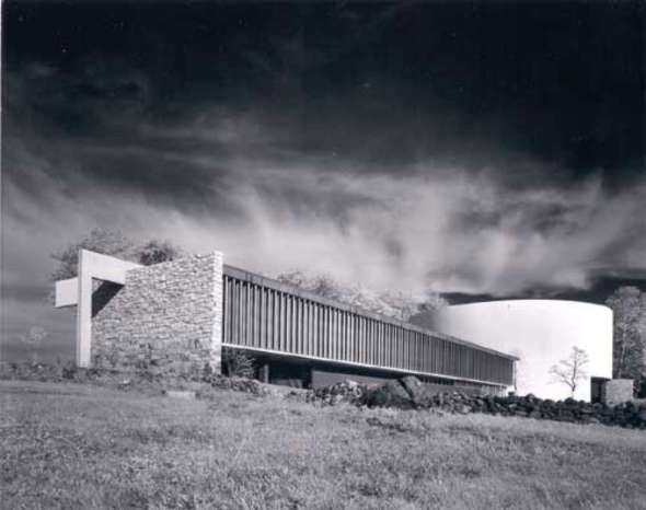Origen y ocaso de Gettysburg Cyclorama Center de Richard Neutra