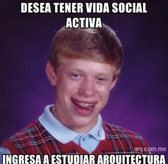 Humor en la arquitectura. Vida Social de los Arquitectos