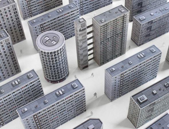 Arquitectura racionalista a golpe de tijera