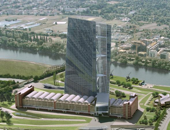 El proyecto faraónico de la nueva sede del BCE en Frankfurt
