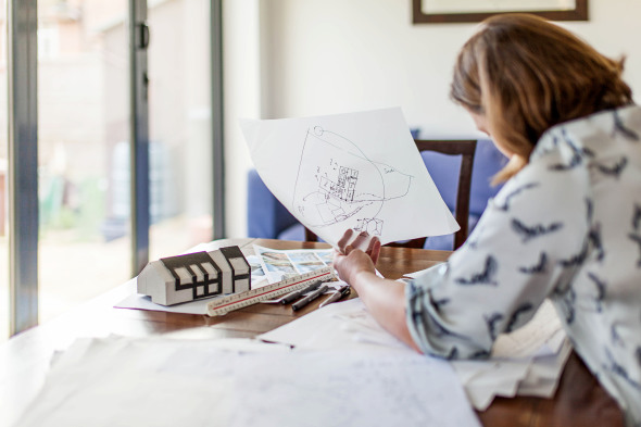 Pocas personas contratan a un arquitecto para la construcción o remodelación de su casa