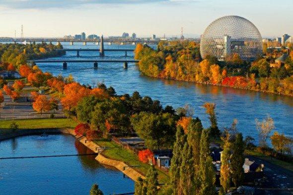 El mundo de Richard Buckminster Fuller. Biósfera de Montreal