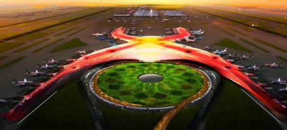 Nuevo aeropuerto puede ser la obra de infraestructura más grande del mundo