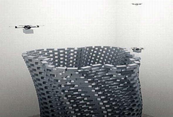 Drones para construir