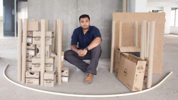 Sistema económico y rápido de construcción desarrollado en India
