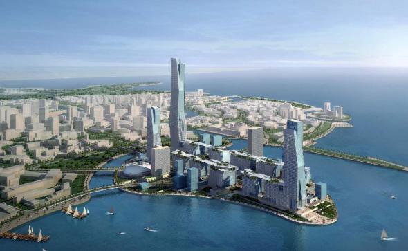 Arabia Saudita construye una ciudad en el desierto
