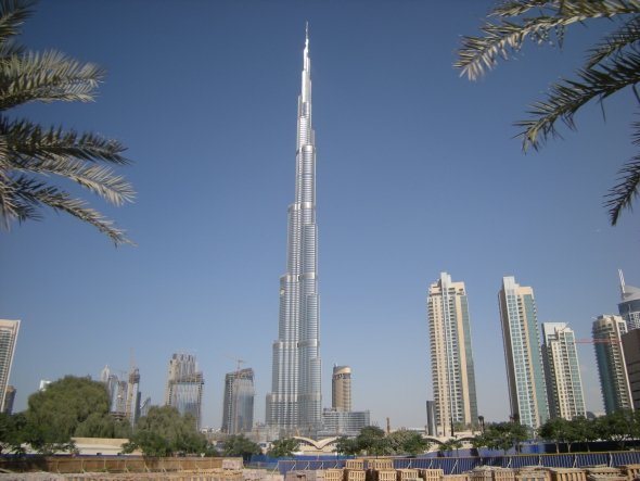 Dubai enganchada a la construcción