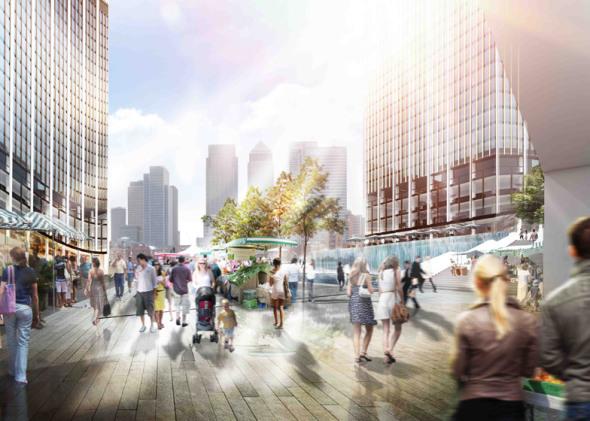 Rascacielos sin sombras podrían redirigir los rayos del sol hacia las plazas públicas