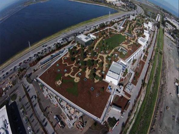 Nueva sede de Facebook alberga un parque de cuatro hectáreas
