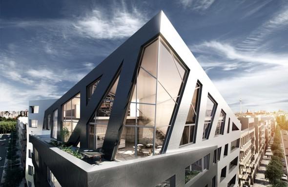 Edificio Zafiro de Daniel Libeskind