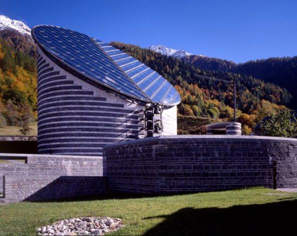 La iglesia de montaña de Mario Botta