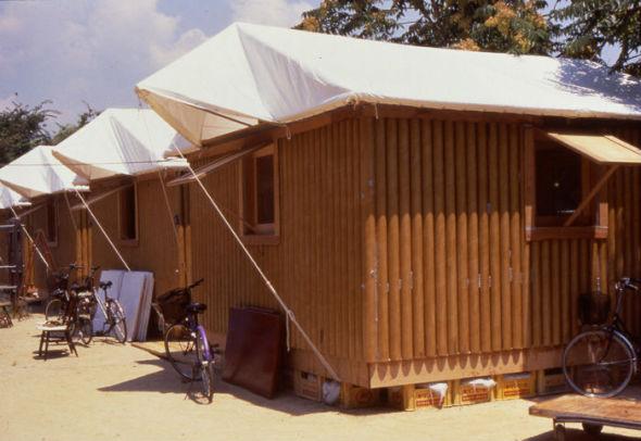 Casas de cartón. Una solución barata, rápida e ingeniosa para salvar vidas