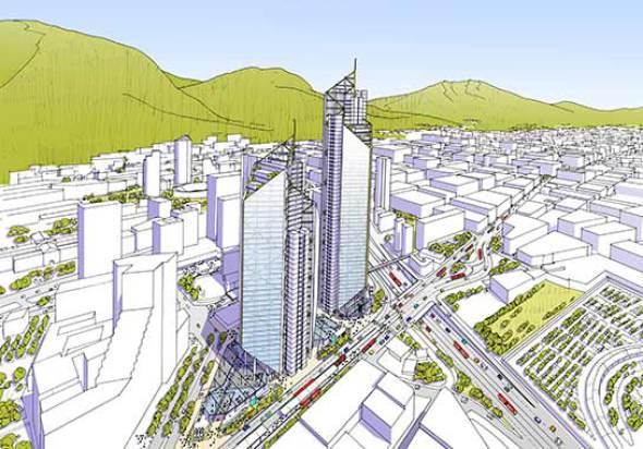 Richard Rogers levanta un rascacielos en Bogotá