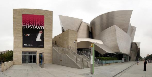 disney concert hall planos: