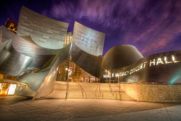 Conoce el espectacular Disney Concert Hall de Frank Gehry