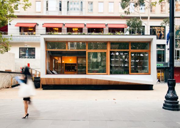 Casa prefabricada en el City Square de Melbourne puede producir más energía de la que consume