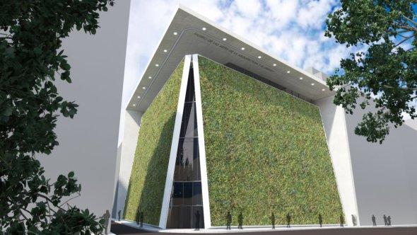 Museo de jardin vertical