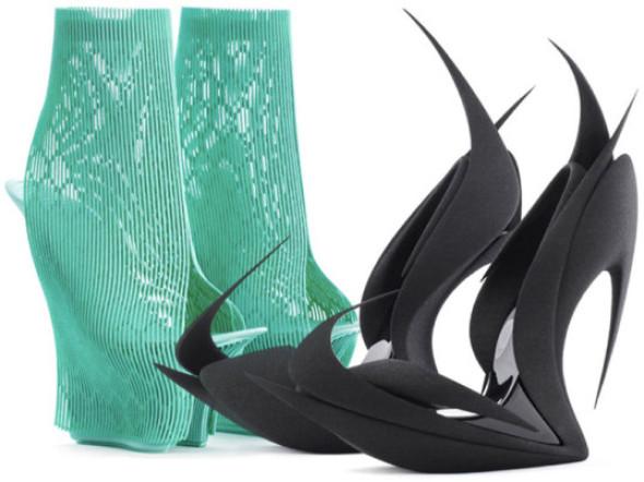 Zaha Hadid y otros arquitectos reinventan los zapatos con la impresión 3D
