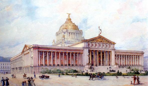 El Palacio Legislativo que quedó en Monumento a la Revolución