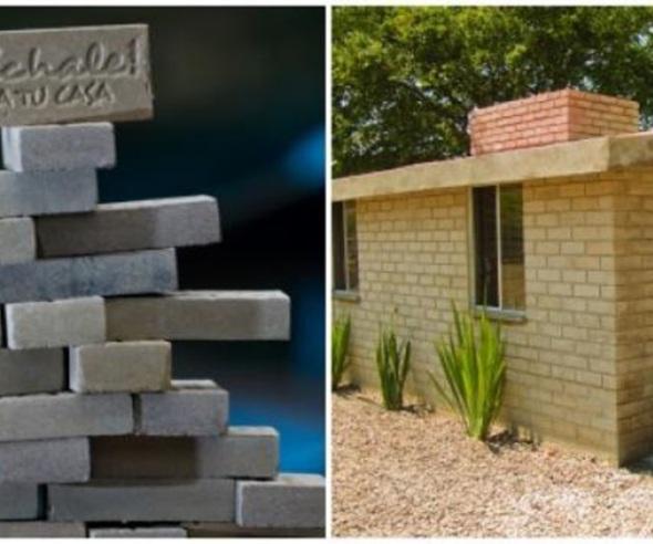 Les pagan por construir sus propias casas