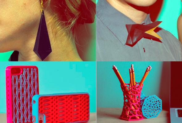 Mexicano se aventura en la moda 3D