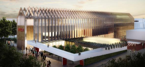 Tradición e innovación se fusionarán en el Pabellón de España en la Expo Milano 2015