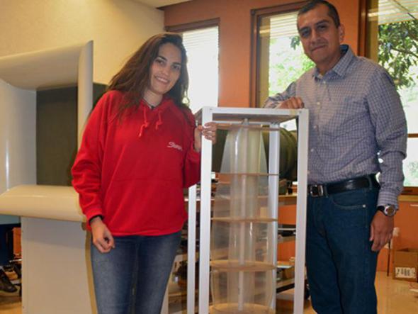 Estudiante desarrolla generador de electricidad de bajo costo