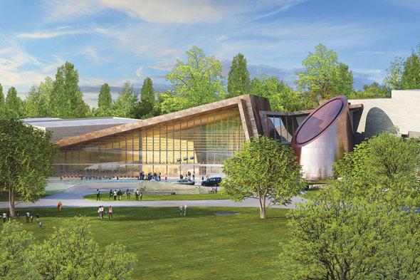 Museo de Historia Natural de Cleveland revela plan de expansión Fentress
