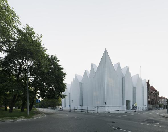 El edificio de la Filarmónica de Szczecin, Premio de Arquitectura de la UE