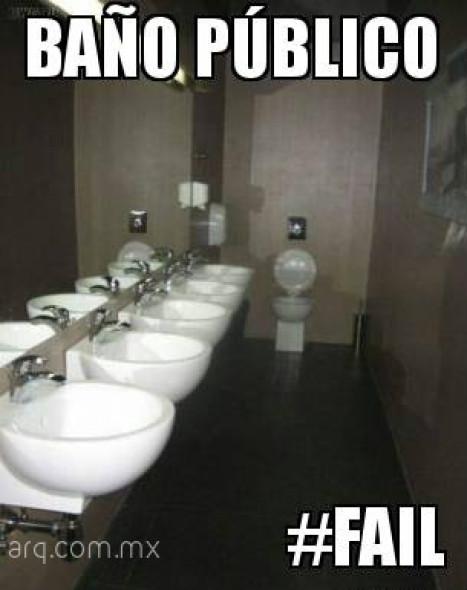 Humor En La Arquitectura Ba Os P Blicos Noticias De
