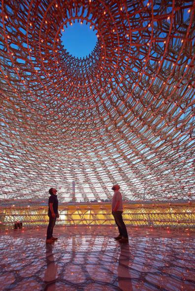 El gran panal de la Expo Milan 2015