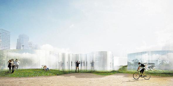 Galería espejada gana concurso de arquitectura joven que apadrina el MoMA