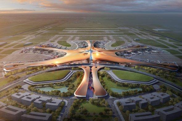 Zaha Hadid y ADPI construyen el mayor aeropuerto del mundo