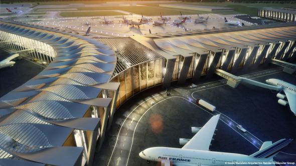 Este aeropuerto va a ser como ninguna otra cosa en el mundo. Norman Foster