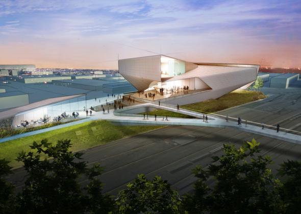 Diller Scofidio y Renfro estrena diseño Museo Olímpico en espiral