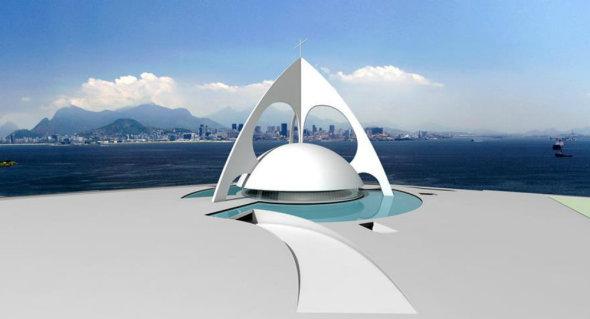 Iglesia diseñada por Niemeyer se realizará 26 años después