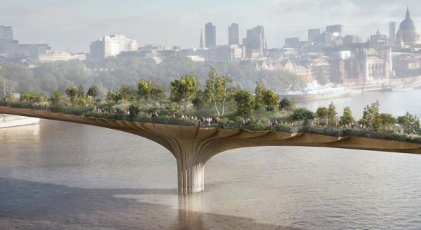 Proyecto de paso peatonal en Londres enfada a comunidad