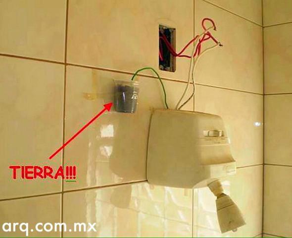 Humor en la Arquitectura. Instalaciones eléctricas