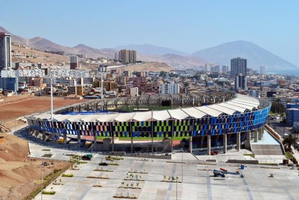 Conoce los Estadios de la Copa América Chile 2015