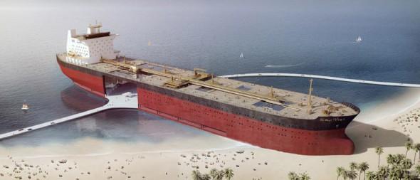 Proyecto Oro Negro readapta los buques petroleros para su uso en tierra