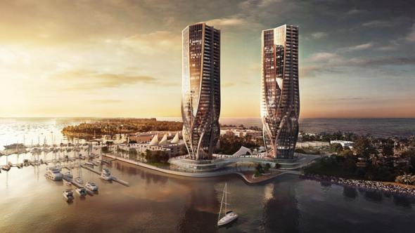 Zaha Hadid Diseña Dos Torres en Australia