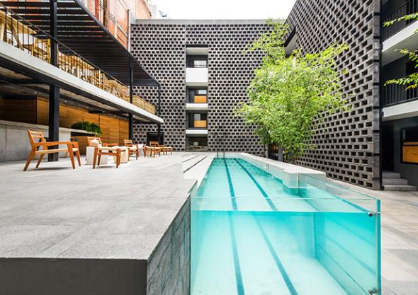Próximo apertura de hotel de diseño en la ciudad de México