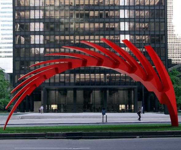 Las enormes esculturas de Santiago Calatrava en Nueva York