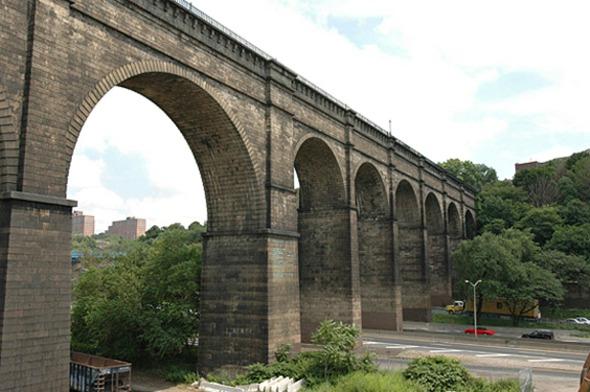 El puente más antiguo de Nueva York renovado en pista de ciclismo