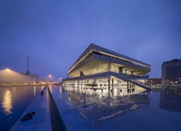 Biblioteca más grande de Escandinavia es alimentada por el sol