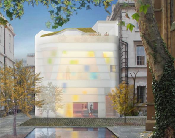 Steven Holl innova en el Maggie Centre Barts de Londres