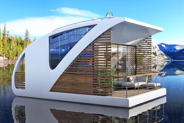 Asombroso hotel flotante
