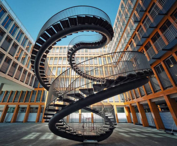 14 Únicas y Espectaculares escaleras de todo el mundo